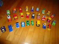 27 véhicules Tonka Chuck and friends métal
