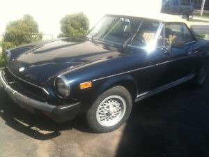 1981 Fiat Spider plus parts *VERY CHEAP*