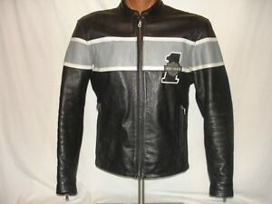 Harley Davidson Leather Jacket - Size Medium