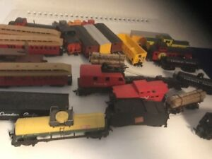 Ho Scale model trains and accessories