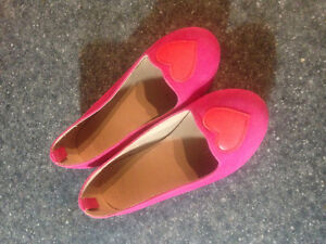 Girls Pink Dress Shoes size 10 like new $5