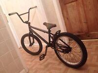 """Matt black 21"""" BMX Premium (bike)"""