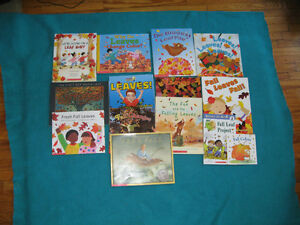 Primary reading Books Fall/Leaf Theme