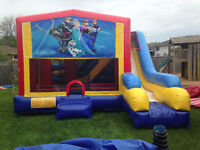 COLOSSAL 7in1 BOUNCER/SLIDE RENTAL,30 THEMES,BIRTHDAYS AND MORE!