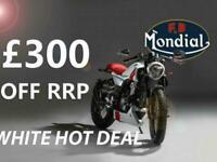 FB Mondial HPS 125cc Modern Classic Retro Cafe Racer Learner legal