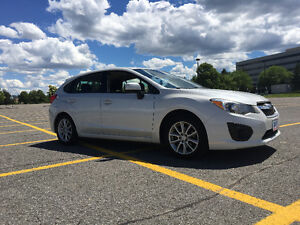 2014 Subaru Impreza Hatchback 2.0 Touring. LOW MILES, VERY CLEAN