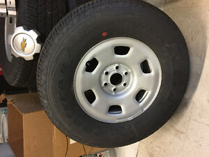Brand New Truck Tires and Steel Rims (set of 4)