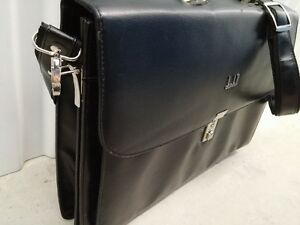 Leather Briefcase with Adjustable and Detachable Shoulder Strap Peterborough Peterborough Area image 3