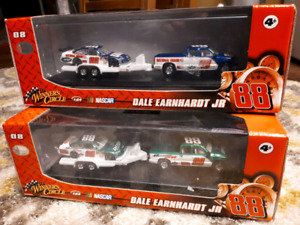 Dale Earnhardt Jr set of 1:64 NASCAR diecast 2008