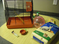 Hampster cage and all accessories