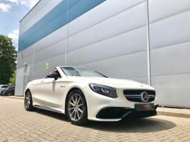 2017 17 reg Mercedes-Benz S63 AMG 5.5 ( 585ps ) Convertible + ENDLESS SPEC