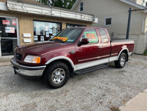 low km f250 ,saftied and in mint condition