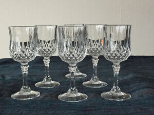 Crystal liqueur glasses North Shore Greater Vancouver Area image 1