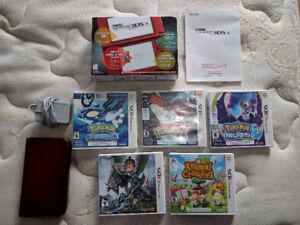 Nintendo 3DS XL + 5 Games