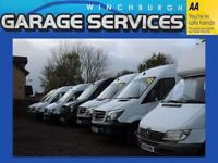 MERCEDES SPRINTER LWB EXCELLENT CONDITION MANUFACTURERS WARRANTY CHOICE OF 10