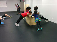 Family Fun - Sunday mornings bring the kids to workout!