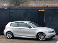 '57' 2008 BMW 1 SERIES 118i M SPORT + LOW 45K MILES + 1/2 LEATHERS + ALLOYS +