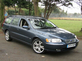 Volvo V70 2.4 ( 170bhp ) Auto SE**Fully Loaded**Memory Seats**Leather**Sunroof**