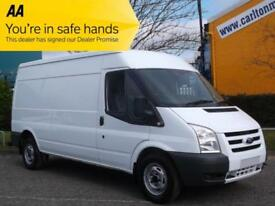 2011 / 61 Ford Transit 115 T300L Medium Roof [ A/C + Sat Nav ] panel van