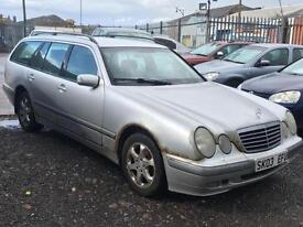 2003/03 Mercedes-Benz E 320 *****BARGAIN****** SPARES and REPAIRS ENGINE STARTS