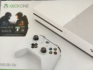 New sealed Xbox One S 500gb Console $400 obo Reg price $450