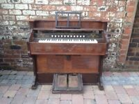 Antique Pedal Organ - Working Order - 1897