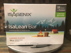WANTED Isagenix S'mores Bars