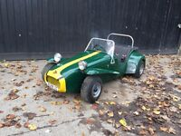 Sonic7 lotus totrod toylander Classic childs petrol car from harrods !