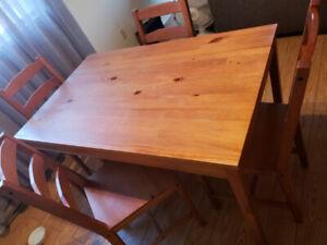 Table cuisine meuble télevision