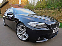 2013 BMW 530D AUTO M-SPORT TOURING. OVER £10K OF BMW OPTIONS !!