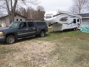 Montana 34 ftTravelTrailer for sale with or without truck