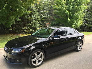 2011 Audi A4 Comes with Winter Tires