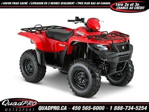 2017 Suzuki KingQuad 500AXi Power Steering 39,86$/SEMAINE