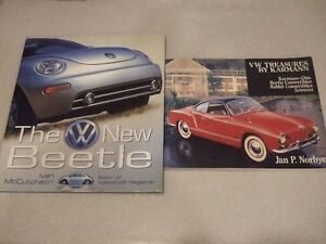 The New VW Beetle & VW Treasures Books