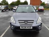 2006 06 HONDA CR-V 2.0i-VTEC AUTOMATIC SPORT.FULL SH.FANTASTIC VALUE.GREATRUNNER