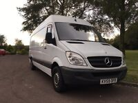 2009/59 314 Mercedes sprinter lwb NO VAT