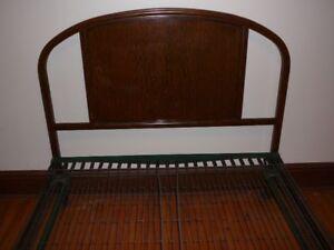 metal bed/ Double