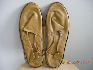 Packard Leather Travel Slippers