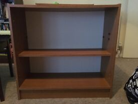 Small bookcase- chipboard/ wood effect
