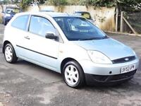 Ford Fiesta 1.25, 2003. Finesse, 46 000 Miles, 1 Years Mot
