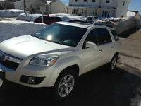 2008 Saturn OUTLOOK XR SUV, Crossover DVD 3rd Row