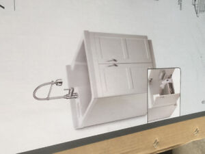 Laundry sink, cabinet and faucet