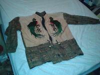 vêtements pour homme: veste,manteau,grandeur large,très bon état