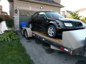 2002 Jetta Black parting out