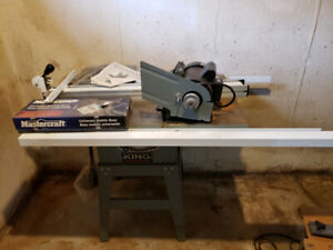 "NEW Industrial 10"" table saw (King)"