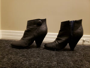 2 Pairs of Black Ankle Boots