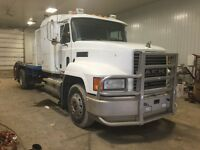 2002 MACK CH612 single axle c/w deck
