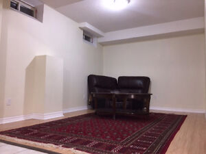 One bedroom basement apartment 850$