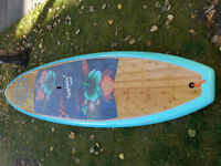 """Suplove Standup Paddle Board 10'6"""" with paddle"""