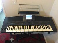 Technics KN5000 Touch Sensitive Keyboard + Extras
